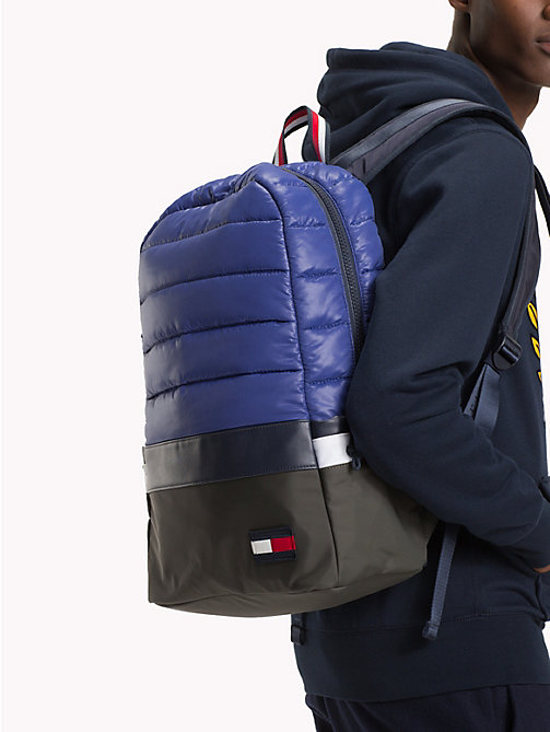 TOMMY HILFIGER City Trek Padded Backpack - BLUE MIX - TOMMY HILFIGER Bags & Accessories - detail image 1