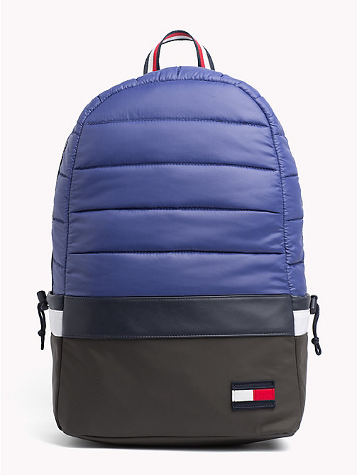 TOMMY HILFIGER City Trek Padded Backpack - BLUE MIX - TOMMY HILFIGER Bags & Accessories - main image