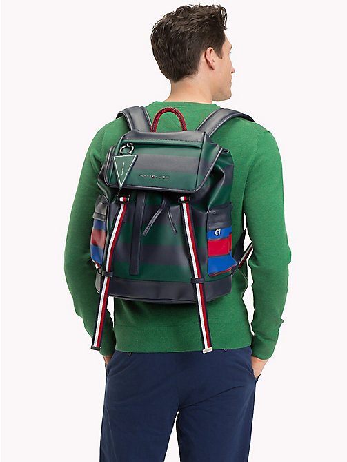 TOMMY HILFIGER Colour-Blocked Explorer Backpack - COLOR BLOCK - TOMMY HILFIGER Backpacks - detail image 1