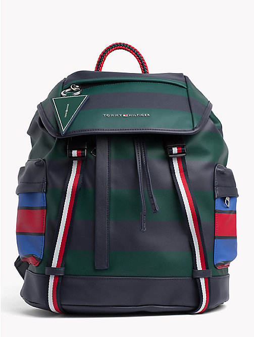 TOMMY HILFIGER Colour-Blocked Explorer Backpack - COLOR BLOCK - TOMMY HILFIGER NEW IN - main image