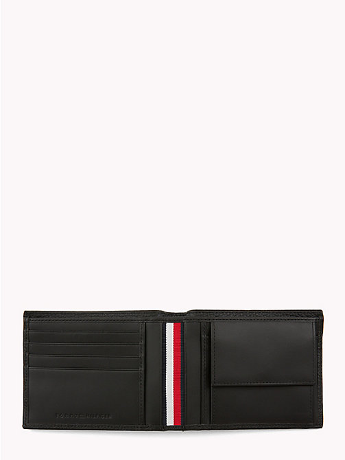 TOMMY HILFIGER Plaque Leather Wallet - BLACK - TOMMY HILFIGER Wallets & Keyrings - detail image 1