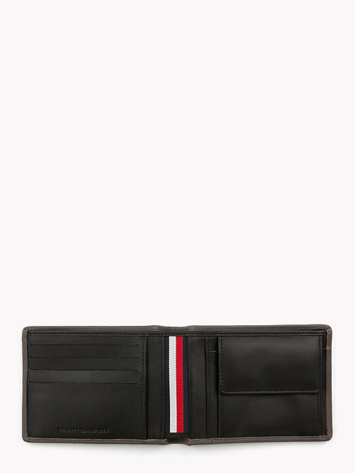 TOMMY HILFIGER Classic Leather Wallet - BLACK/GREY - TOMMY HILFIGER Wallets & Keyrings - detail image 1