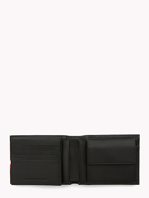 TOMMY HILFIGER Signature Leather Wallet - BLACK - TOMMY HILFIGER Wallets & Keyrings - detail image 1