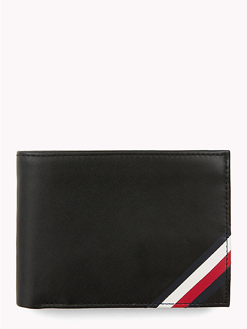 TOMMY HILFIGER Signature Leather Wallet - BLACK - TOMMY HILFIGER Wallets & Keyrings - main image