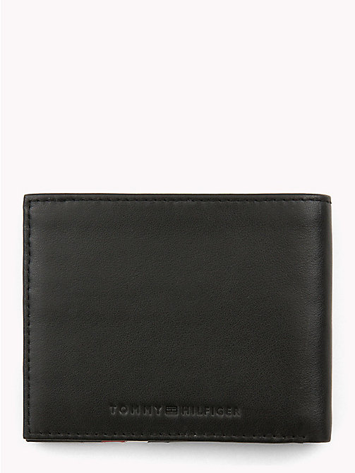 TOMMY HILFIGER Signature Slim Credit Card Wallet - BLACK - TOMMY HILFIGER Wallets & Keyrings - detail image 1