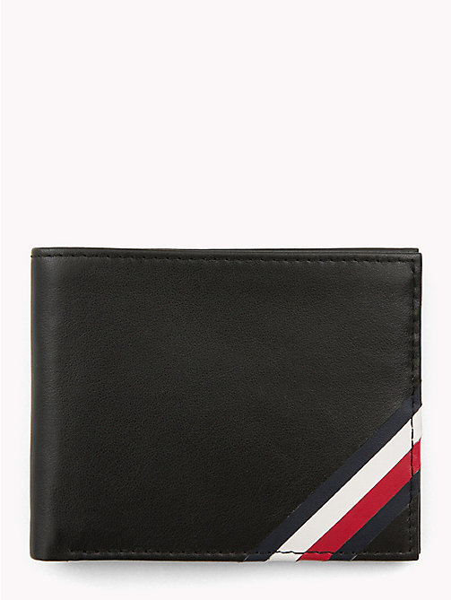 TOMMY HILFIGER Signature Slim Credit Card Wallet - BLACK - TOMMY HILFIGER Wallets & Keyrings - main image