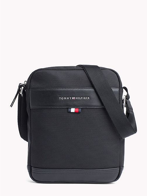 TOMMY HILFIGER Tailored Cross-Body Reporter Bag - BLACK - TOMMY HILFIGER Bags & Accessories - main image