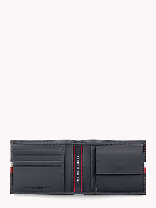 TOMMY HILFIGER Tommy Tape Textured Wallet - TOMMY NAVY - TOMMY HILFIGER Wallets & Keyrings - detail image 1