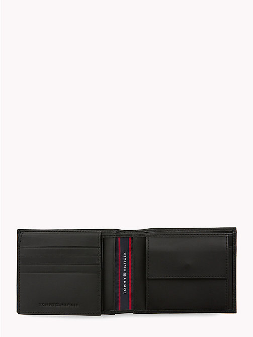 TOMMY HILFIGER Tommy Tape Leather Wallet - BLACK - TOMMY HILFIGER NEW IN - detail image 1