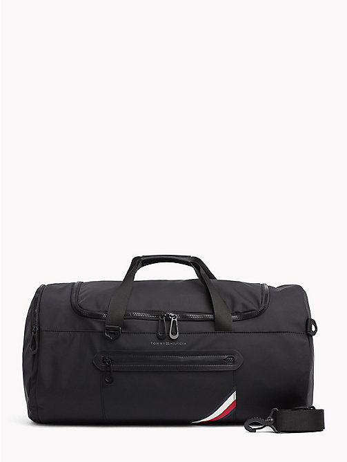 TOMMY HILFIGER Easy Tape Convertible Duffle Bag - BLACK - TOMMY HILFIGER Duffle Bags - main image