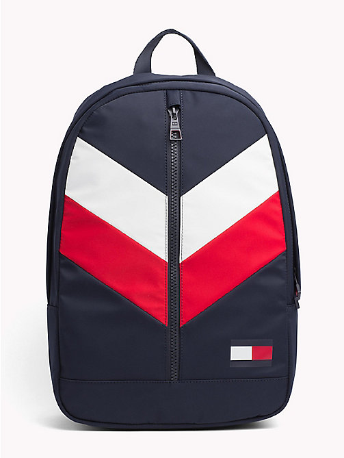 TOMMY HILFIGER Rugzak met signature-chevrondesign - CORPORATE - TOMMY HILFIGER NIEUW - main image