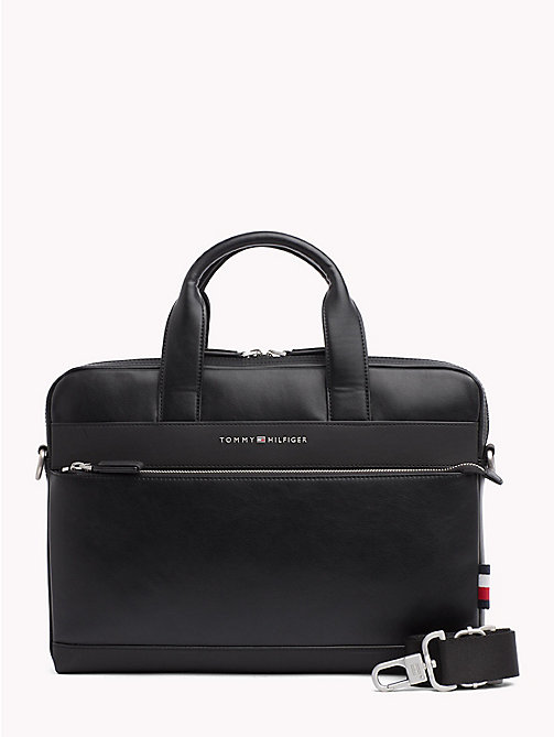 TOMMY HILFIGER Sac d'ordinateur portable TH City - BLACK - TOMMY HILFIGER Looks de bureau - image principale