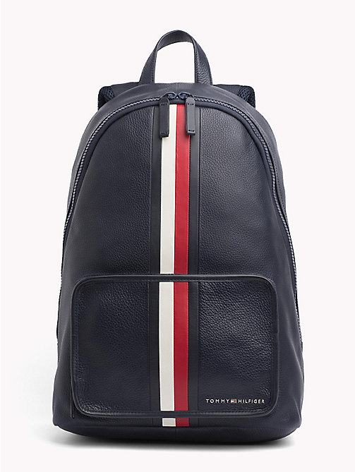 TOMMY HILFIGER Elevated Leather Backpack - CORPORATE - TOMMY HILFIGER Bags & Accessories - main image
