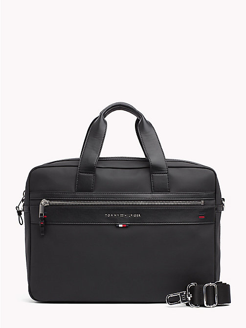TOMMY HILFIGER Elevated Laptop Bag - BLACK - TOMMY HILFIGER Laptop Bags - main image