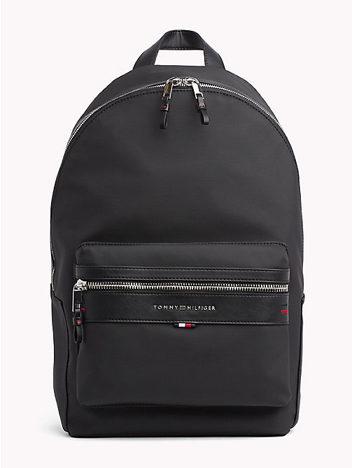 TOMMY HILFIGER Elevated Laptop Backpack - BLACK - TOMMY HILFIGER Backpacks - main image