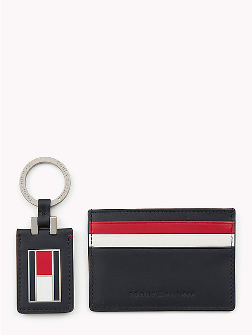 TOMMY HILFIGER Signature Cardholder and Key Fob - CORPORATE - TOMMY HILFIGER Bags & Accessories - main image