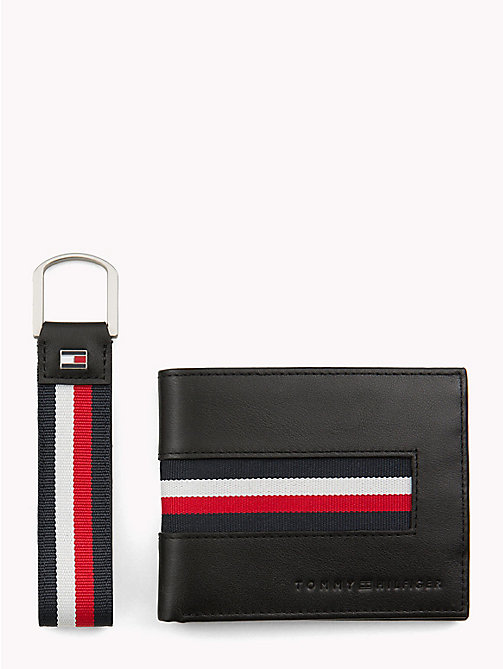 TOMMY HILFIGER Signature Key Fob and Wallet - CORPORATE - TOMMY HILFIGER NEW IN - main image
