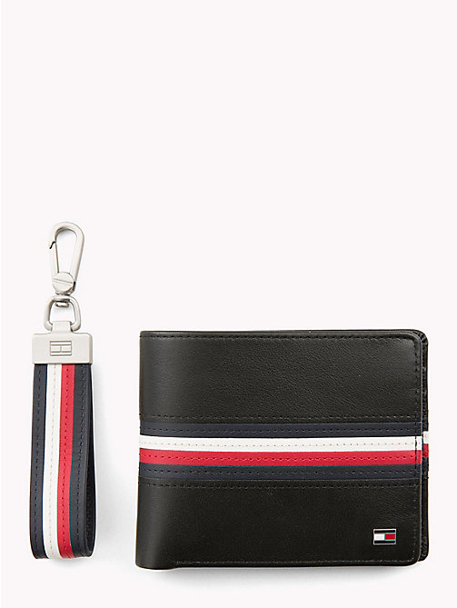 TOMMY HILFIGER 3-in-1 Wallet, Cardholder and Key Fob Set - CORPORATE - TOMMY HILFIGER Bags & Accessories - main image