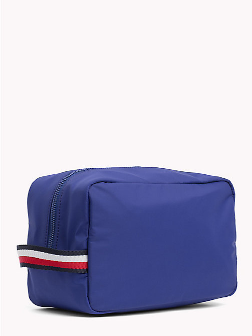 TOMMY HILFIGER 3-in-1 Wash Bag, Cardholder and Keyfob - SODALITE BLUE - TOMMY HILFIGER NEW IN - detail image 1