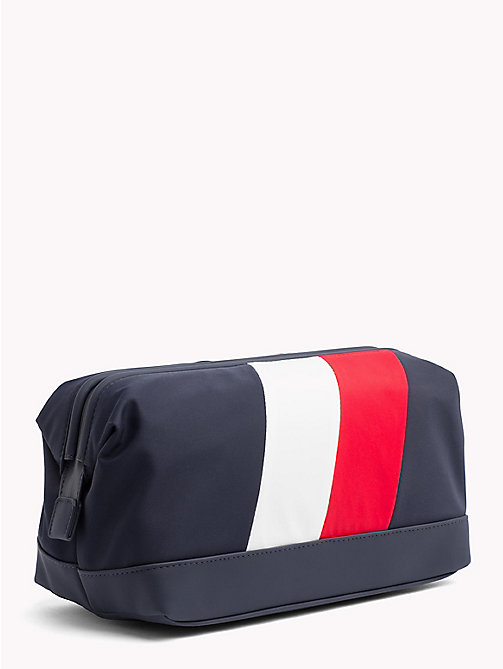 TOMMY HILFIGER Signature Chevron Wash Bag - CHEVRON - TOMMY HILFIGER NEW IN - detail image 1