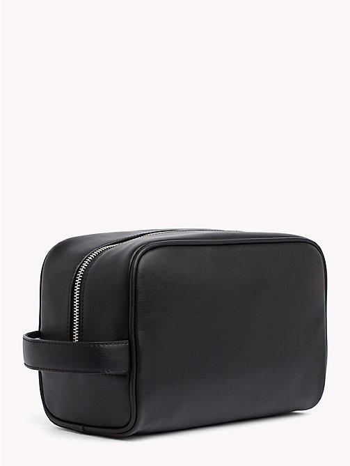 TOMMY HILFIGER TH City Washbag - BLACK - TOMMY HILFIGER Bags & Accessories - detail image 1