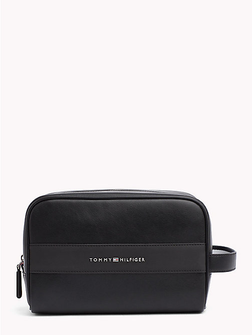 TOMMY HILFIGER TH City Washbag - BLACK - TOMMY HILFIGER Bags & Accessories - main image