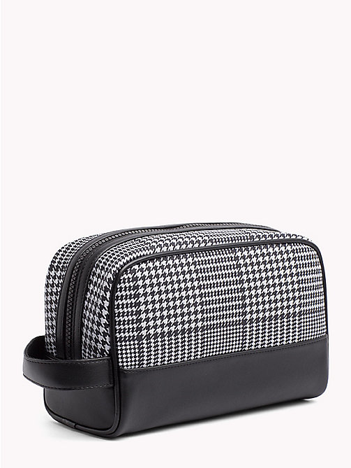 TOMMY HILFIGER Tommy Tape Check Washbag - PRINCE OF WALES - TOMMY HILFIGER Bags & Accessories - detail image 1