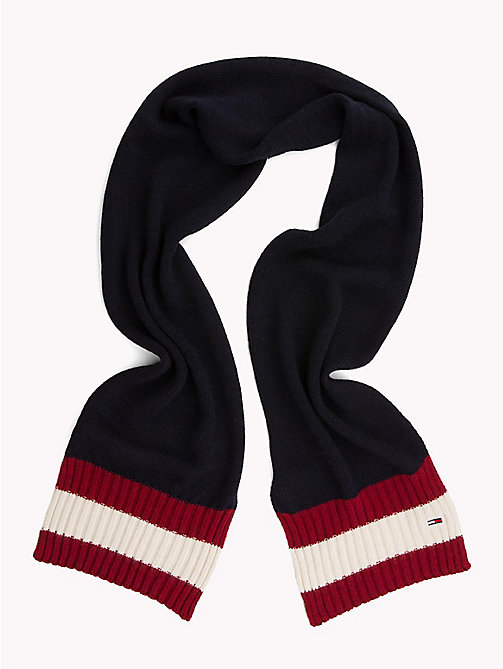 TOMMY JEANS Signature Design Knit Scarf - CORPORATE - TOMMY JEANS Winter Warmers - detail image 1