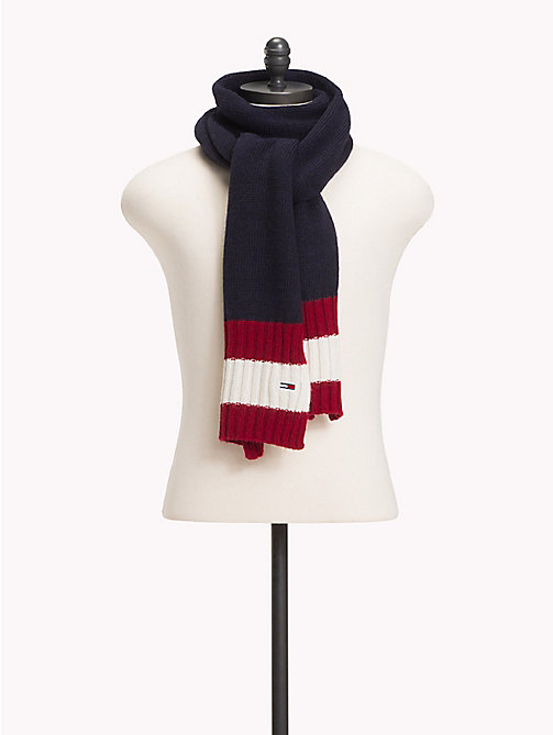 TOMMY JEANS Signature Design Knit Scarf - CORPORATE - TOMMY JEANS Winter Warmers - main image