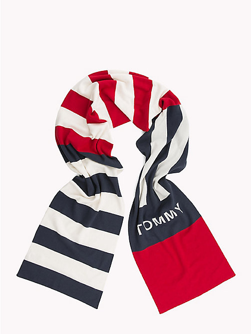 TOMMY JEANS Rugby Stripe Scarf - CORPORATE - TOMMY JEANS Scarves - detail image 1