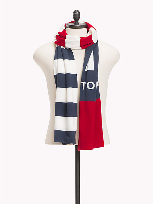 TOMMY JEANS Rugby Stripe Scarf - CORPORATE - TOMMY JEANS Scarves - main image