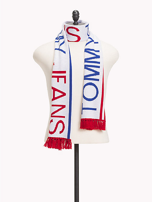 TOMMY JEANS Fringed Logo Scarf - CORPORATE - TOMMY JEANS Scarves - main image