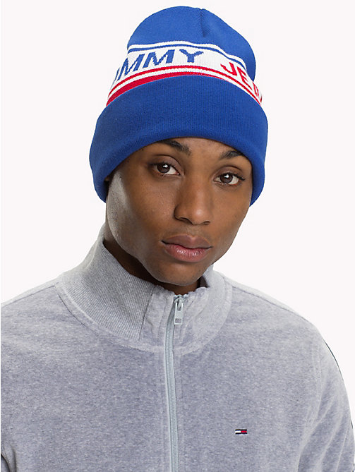 TOMMY JEANS Logo Stripe Beanie - CORPORATE - TOMMY JEANS Caps & Beanies - detail image 1