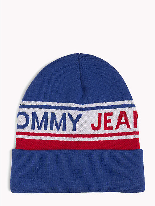 TOMMY JEANS Logo Stripe Beanie - CORPORATE - TOMMY JEANS Hats - main image
