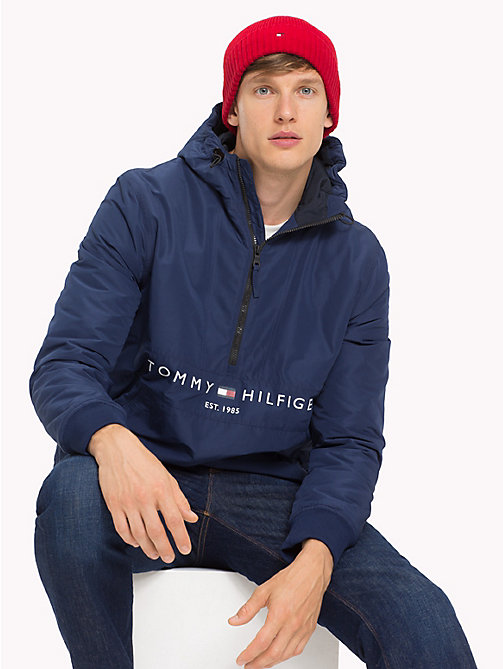 TOMMY HILFIGER Beanie aus Baumwoll-Kaschmir - TOMMY RED - TOMMY HILFIGER Bags & Accessories - main image 1