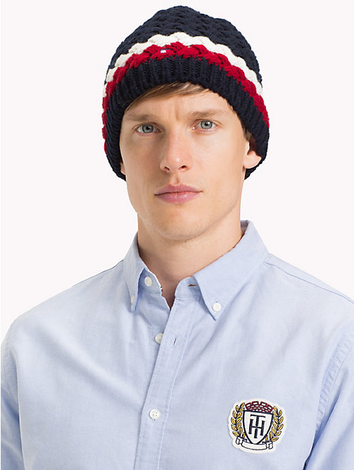 TOMMY HILFIGER Signature Bubble Knit Beanie - CORPORATE - TOMMY HILFIGER NEW IN - detail image 1
