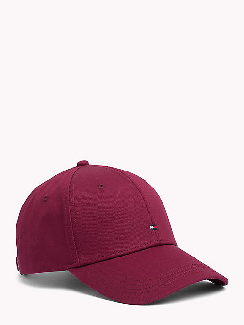 TOMMY HILFIGER Classic Baseball Cap - RHUBARB - TOMMY HILFIGER Bags & Accessories - main image