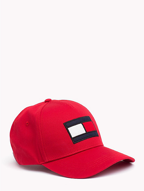 TOMMY HILFIGER Tommy Hilfiger Flag Cap - TOMMY RED - TOMMY HILFIGER Caps & Beanies - main image