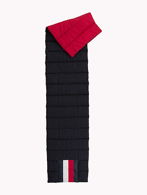 TOMMY HILFIGER Colour-Blocked Puffer Scarf - CORPORATE MIX - TOMMY HILFIGER Scarves - detail image 1