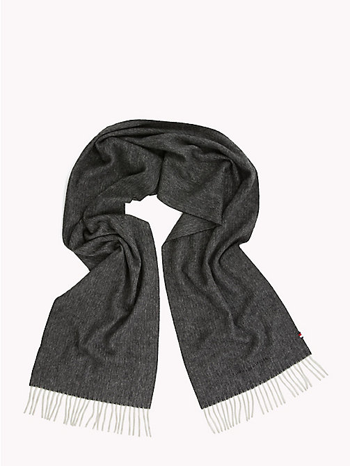 TOMMY HILFIGER Pure Cashmere Scarf - HERRINGBONE - TOMMY HILFIGER NEW IN - detail image 1