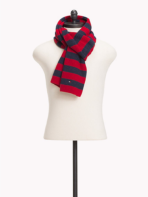 TOMMY HILFIGER Cotton Cashmere Scarf - CORPORATE - TOMMY HILFIGER Scarves - main image