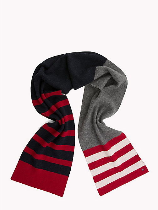 TOMMY HILFIGER Retro Stripe Scarf - CORPORATE - TOMMY HILFIGER Scarves - detail image 1