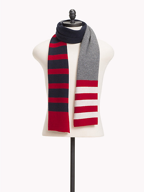 TOMMY HILFIGER Retro Stripe Scarf - CORPORATE - TOMMY HILFIGER Scarves - main image