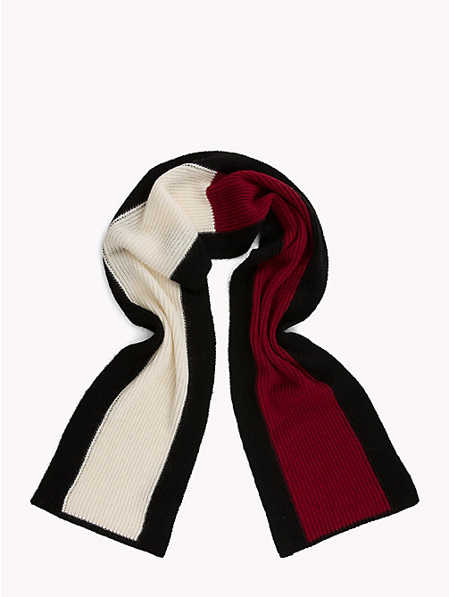 TOMMY HILFIGER Luxury Flag Scarf - CORPORATE - TOMMY HILFIGER NEW IN - detail image 1