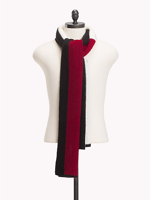 TOMMY HILFIGER Luxury Flag Scarf - CORPORATE - TOMMY HILFIGER Scarves - main image