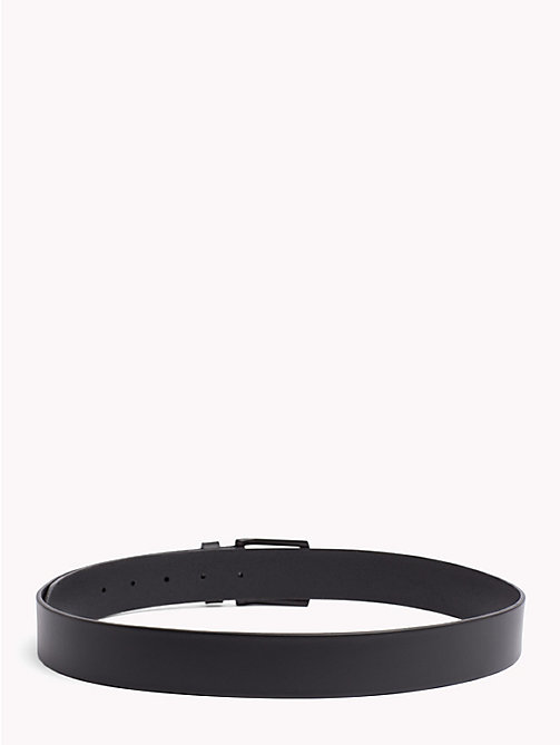 TOMMY HILFIGER Denton Leather Belt - BLACK - TOMMY HILFIGER Belts - detail image 1