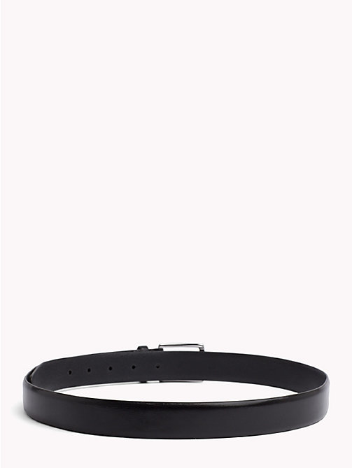 TOMMY HILFIGER Classic Leather Belt - BLACK - TOMMY HILFIGER Bags & Accessories - detail image 1