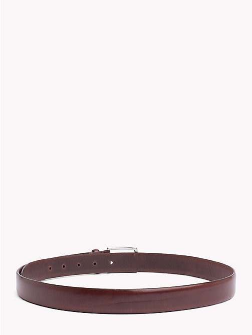 TOMMY HILFIGER Classic Leather Belt - TESTA DI MORO - TOMMY HILFIGER Belts - detail image 1