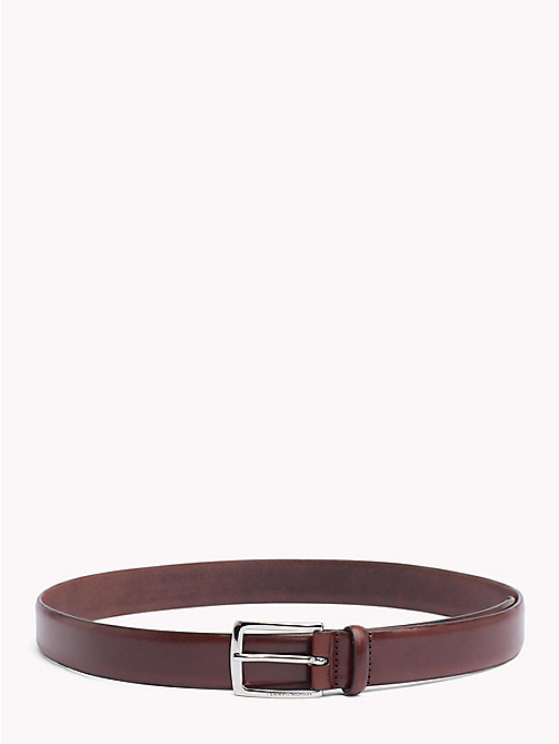 TOMMY HILFIGER Classic Leather Belt - TESTA DI MORO - TOMMY HILFIGER Belts - main image