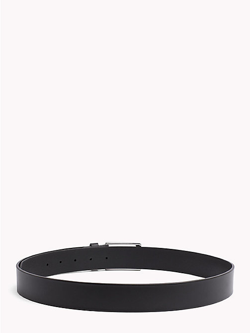 TOMMY HILFIGER Layton Leather Belt - BLACK - TOMMY HILFIGER What to wear - detail image 1